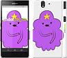 "Чехол на Sony Xperia Z C6602 Принцесса Пупырка. Adventure Time. Lumpy Space Princess v2 ""1221c-40"""