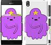 "Чехол на Sony Xperia Z3 D6603 Принцесса Пупырка. Adventure Time. Lumpy Space Princess v2 ""1221c-58"""