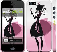 """Чехол на iPhone 5 Принцесса 2 """"1993c-18"""""""