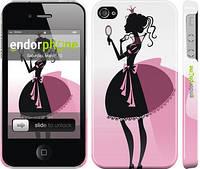 """Чехол на iPhone 4s Принцесса 2 """"1993c-12"""""""