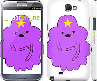 "Чехол на Samsung Galaxy Note 2 N7100 Принцесса Пупырка. Adventure Time. Lumpy Space Princess v2 ""1221c-17"""