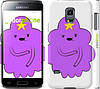 "Чехол на Samsung Galaxy S5 mini G800H Принцесса Пупырка. Adventure Time. Lumpy Space Princess v2 ""1221c-44"""