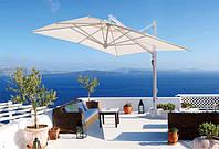 Зонт консольный Галилей 3x4. Садовые зонты, зонты для летних площадок