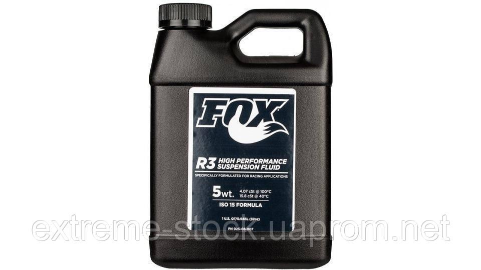 Масло Fox Racing Shox R3 High Perfomance Suspension Fluid, 5WT, 250 ml