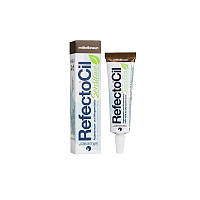 RefectoCil Sensitive Eyelash & Eyebrow Tint Medium Brown. Медно-коричневый, 15 мл - 60 процедур