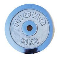 Блины ( диски) хром 10 кг