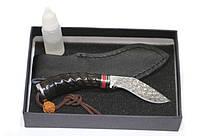 Нож Дамаск Кукри с фиксированным клинком