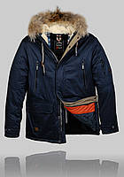 Зимняя куртка  Black Vinyl (z-1207-1)