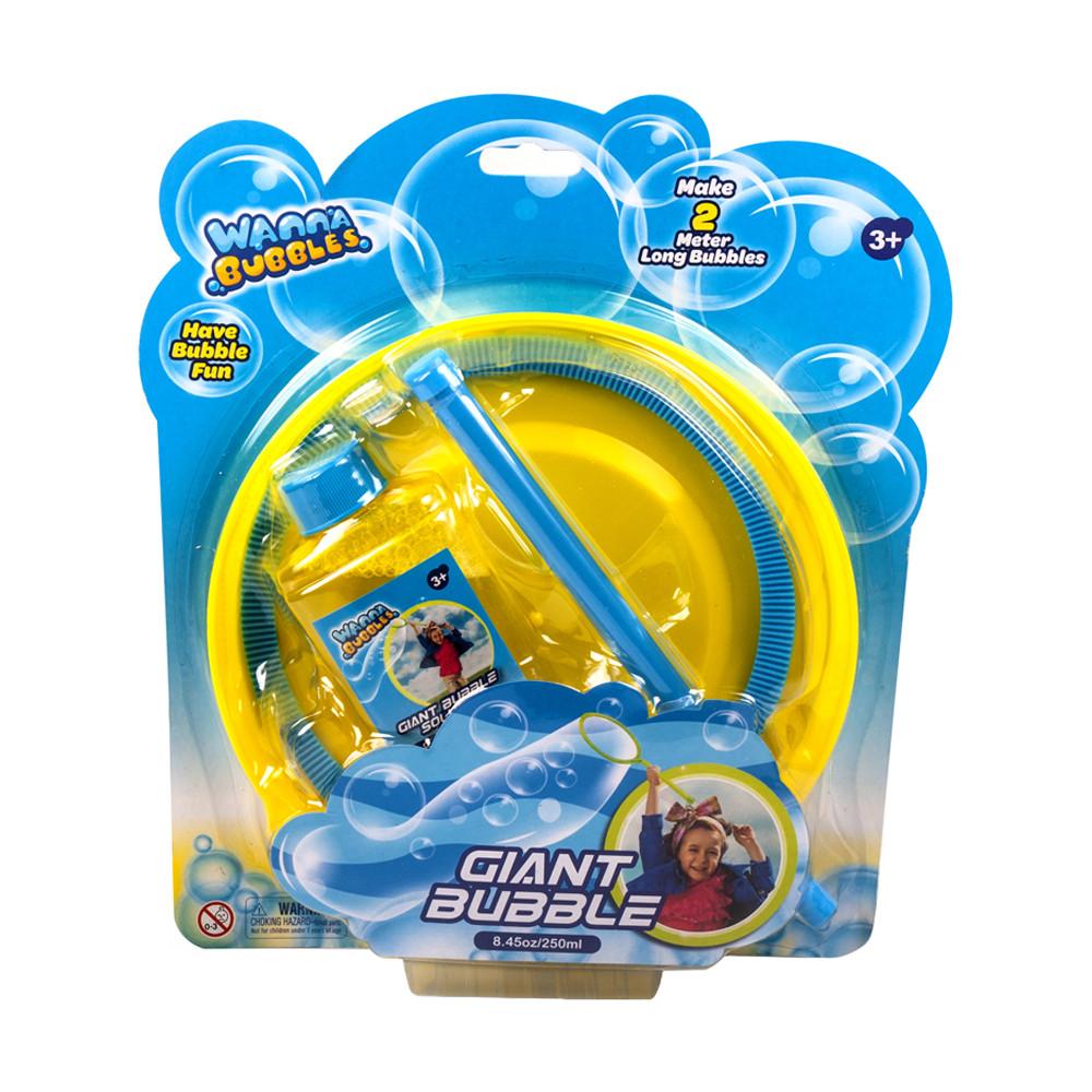 """Мыльные пузыри Wanna Bubbles """"Гигантский размер"""", 250 мл, желтый"""