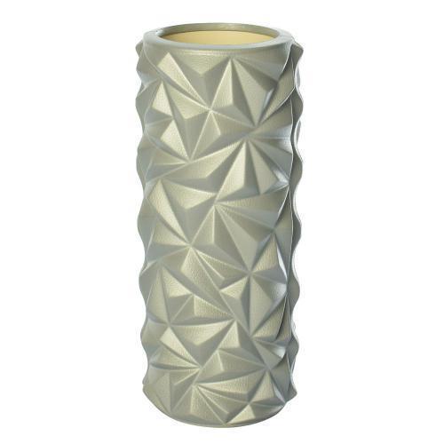 Массажный валик (ролик) Серый перламутр (33х14 см) - MS 2521-G