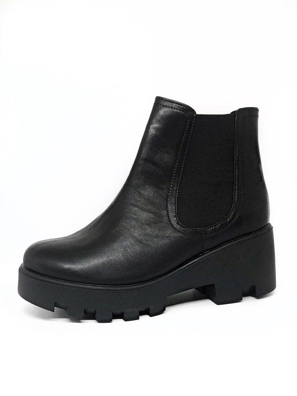 Женские демисезонные ботинки 40 размер осень весна из натуральной кожи
