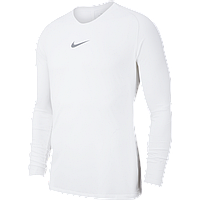Термобелье мужское Nike Dry Park First Layer LS AV2609-100 Белый