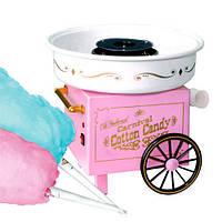Аппарат для сладкой ваты Candy Maker на колёсах, машинка для приготовления конфет и сладкой ваты