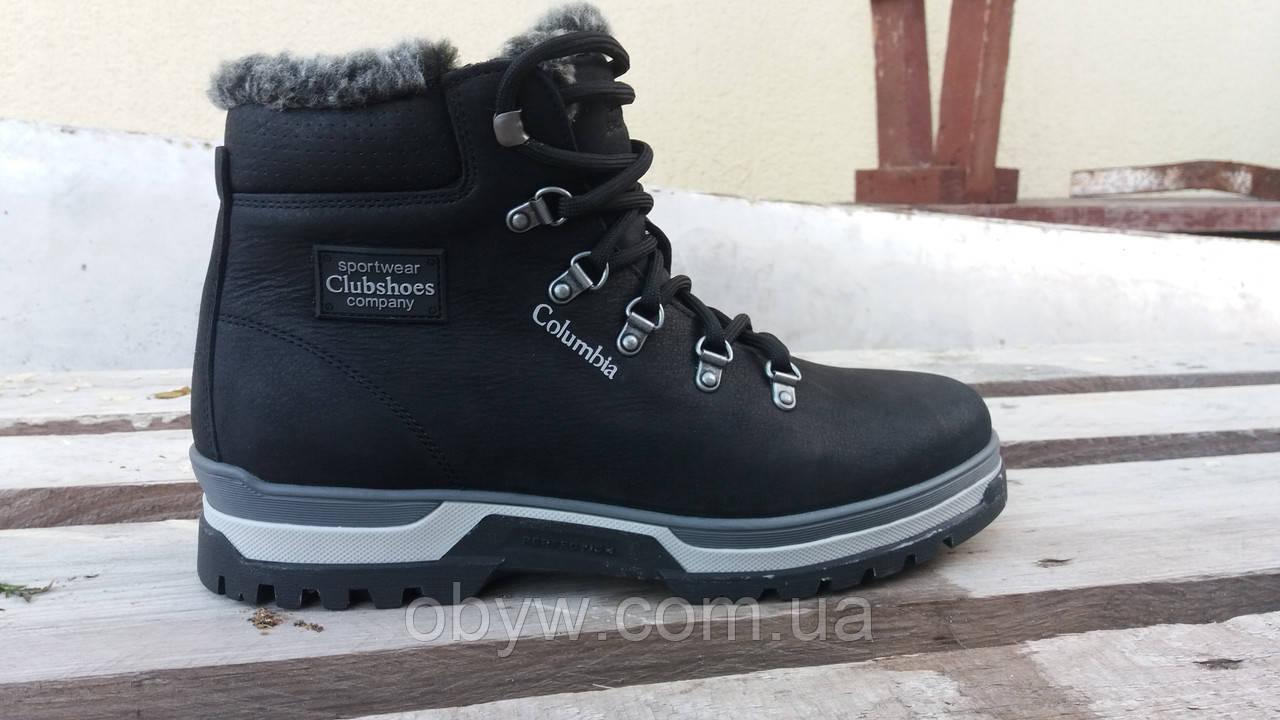 Кожаные зимние ботинки Columbia t34