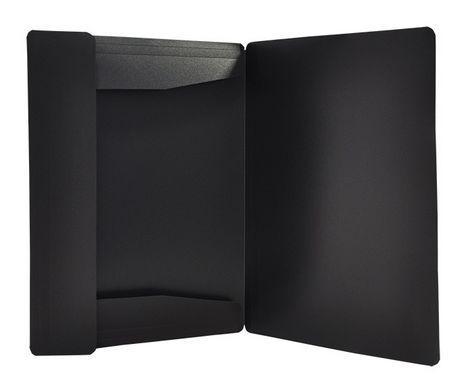 Папка на гумках А4 чорна BM3911-01