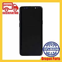 Дисплей Samsung G960 Galaxy S9 с сенсором Серый Titanium Gray оригинал , GH97-21696C