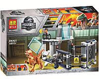 "Конструктор Bela 10922 ""Побег стигимолоха из лаборатории"" (аналог Lego Jurassic World 75927), 234 дет"