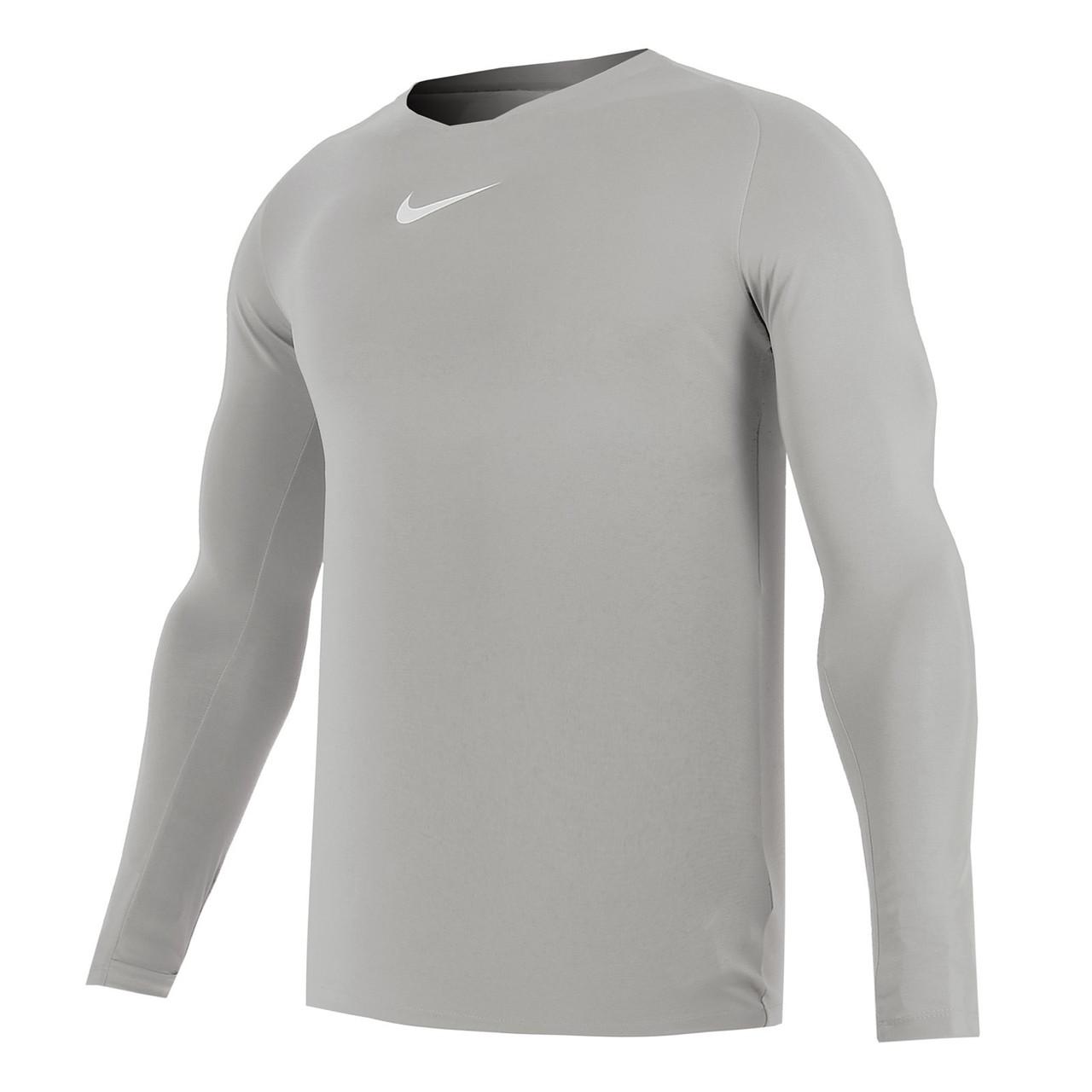 Термобелье мужское Nike Dry Park First Layer LS AV2609-057 Серый