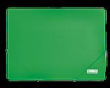 Папка пластиковая на резинках А4 зеленая BM3911-04, фото 2