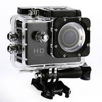 Экшн камера Action Camera D600 с боксом и креплениями, фото 1