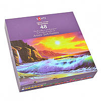 Пастель сухая художественная Santi 48 цветов 353277