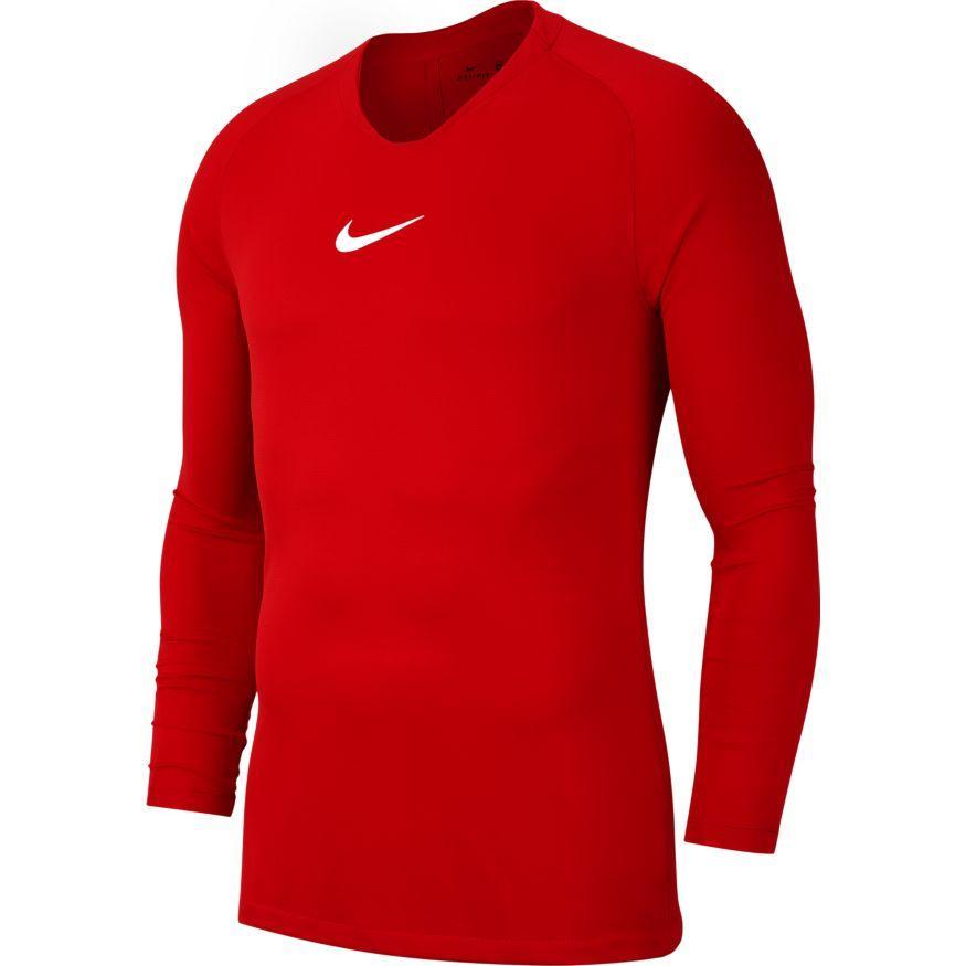Термобелье мужское Nike Dry Park First Layer LS AV2609-657 Красный