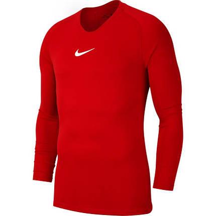 Термобелье мужское Nike Dry Park First Layer LS AV2609-657 Красный, фото 2
