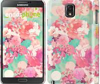 "Чехол на Samsung Galaxy Note 3 N9000 Цветы 3 ""2734c-29"""