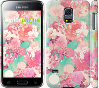 "Чехол на Samsung Galaxy S5 mini G800H Цветы 3 ""2734c-44"""