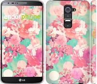 "Чехол на LG G2 Цветы 3 ""2734c-37"""