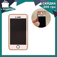 Спиральная электрическая USB зажигалка в стиле Iphone U-909 | ЮСБ зажигалка, фото 1