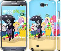 "Чехол на Samsung Galaxy Note 2 N7100 Adventure time. v2 ""2454c-17"""