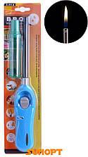 Бытовая зажигалка c блокировкой и регулированием пламени + баллончик с газом №300 AA-2