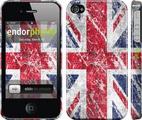 """Чехол на iPhone 4s Флаг Великобритании 1 """"386c-12"""""""