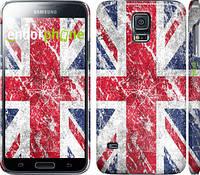 "Чехол на Samsung Galaxy S5 Duos SM G900FD Флаг Великобритании 1 ""386c-62"""