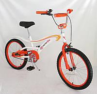 """Велосипед двухколесный 20 """" 152021  со звонком, зеркалом"""