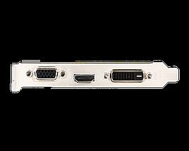 Видеокарта GeForce GT710, MSI, 1 Гб DDR3, 64-bit, Silent (GT 710 1GD3H LP), низкопрофильная, відеокарта, фото 2