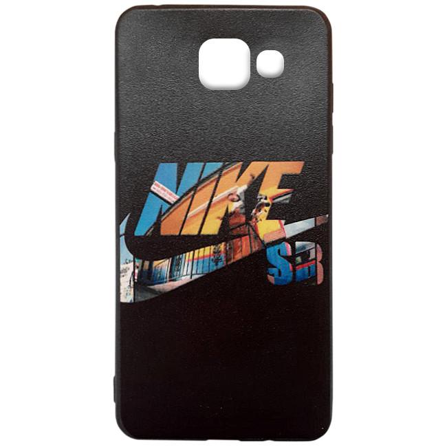 Чехол-накладка Color Print для Samsung A310F Galaxy A3 (2016) Nike