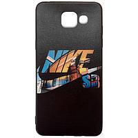 Чехол-накладка Color Print для Samsung A320 Galaxy A3 (2017) Nike