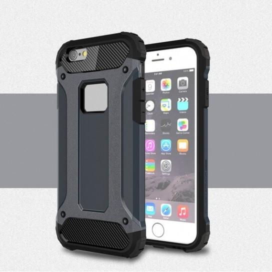 """Бронированный противоударный чехол Immortal для Apple iPhone 6/6s plus (5.5"""") Серый / Metal slate"""