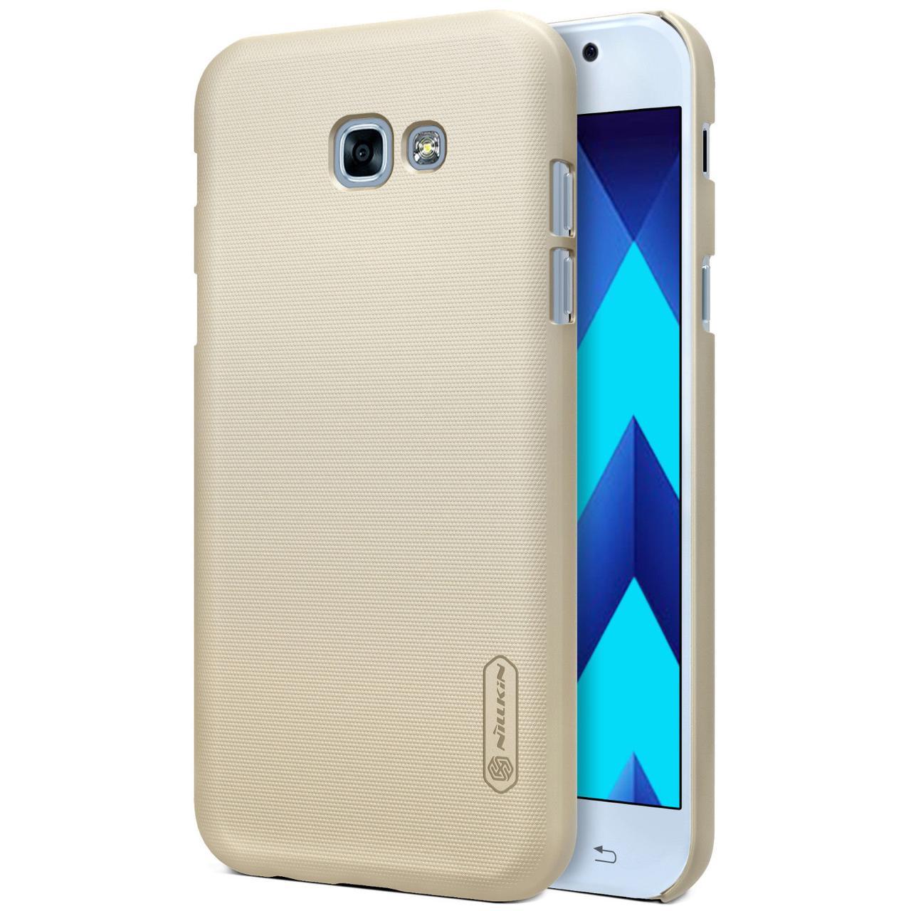 Чехол Nillkin Matte для Samsung A520 Galaxy A5 (2017) Золотой