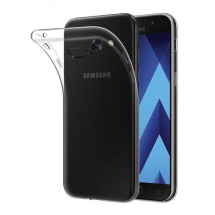 Чехол-накладка Ultrathin Series 0,33mm для Samsung A520 Galaxy A5 (2017) Бесцветный (прозрачный)