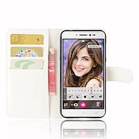Чехол-книжка Litchie Wallet для Asus Zenfone Live ZB501KL Белый