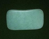 Скребок Гуаша нефрит пластина для выскребания болезней