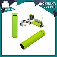 Колонка-зарядка Power Bank 3 в 1 Power Jam салатовая | внешний аккумулятор | портативная зарядка с колонкой, фото 1