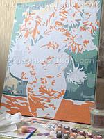 """Хочу поделиться с Вами радостью от окончания работы над картиной """"Подсолнухи"""". Получила массу удовольствия от рисования! Спасибо Вам за приятное сотрудничество! С наилучшими пожеланиями, Всеслава."""