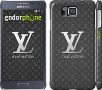 """Чехол на Samsung Galaxy Alpha G850F Louis Vuitton 3 """"457c-65"""""""