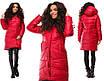 Женское стильное деми пальто, размеры 42, 44,46, белый, черный, красный, шоколад, оливковый, фото 7