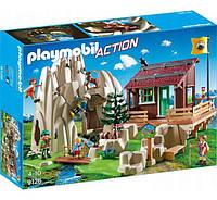 Playmobil 9126 Хижина в горах и скалолазы