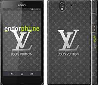 "Чехол на Sony Xperia Z C6602 Louis Vuitton 3 ""457c-40"""